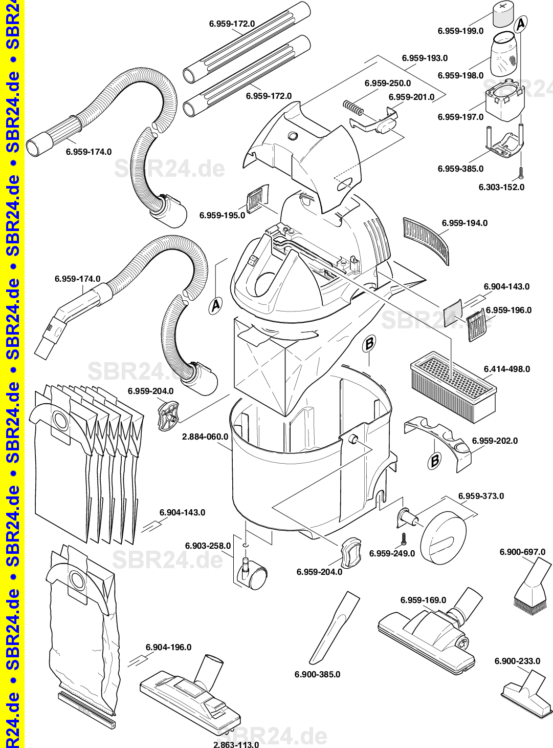 Kärcher Ersatzteile K 2501 Nt Duese Eu 1080 1310