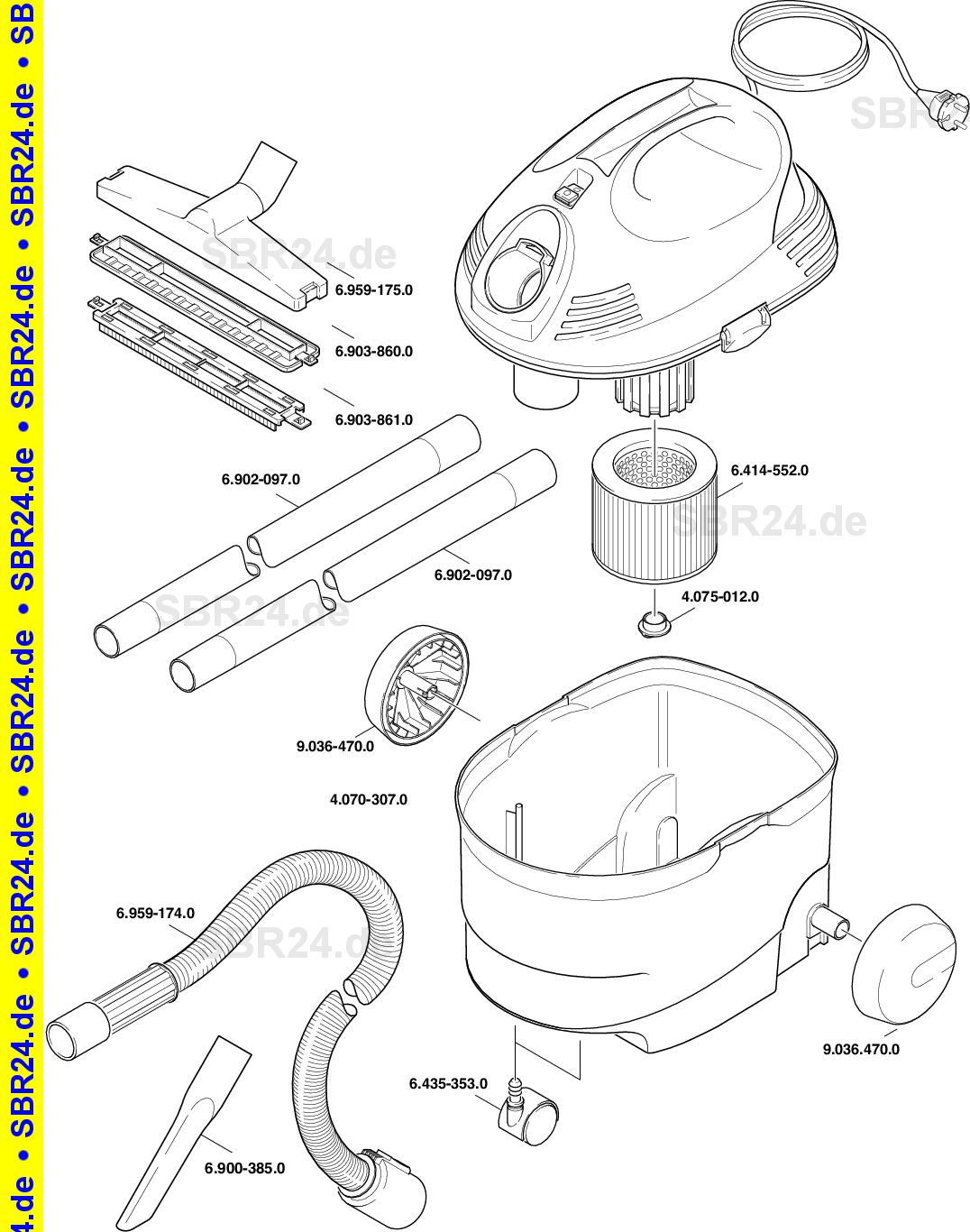 Kärcher Ersatzteile A 2101 Eu 1178 1010