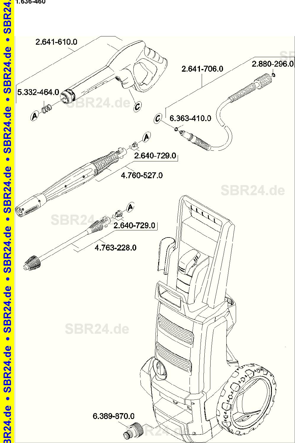 k rcher zubeh r hochdruckreiniger ex88 kyushucon. Black Bedroom Furniture Sets. Home Design Ideas