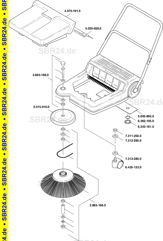 Kärcher Ersatzteile Km 550 1766 1100