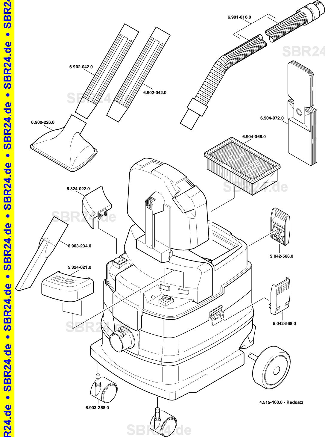 Kärcher Ersatzteile K 2000 E Nw60 Eu 1892 1210